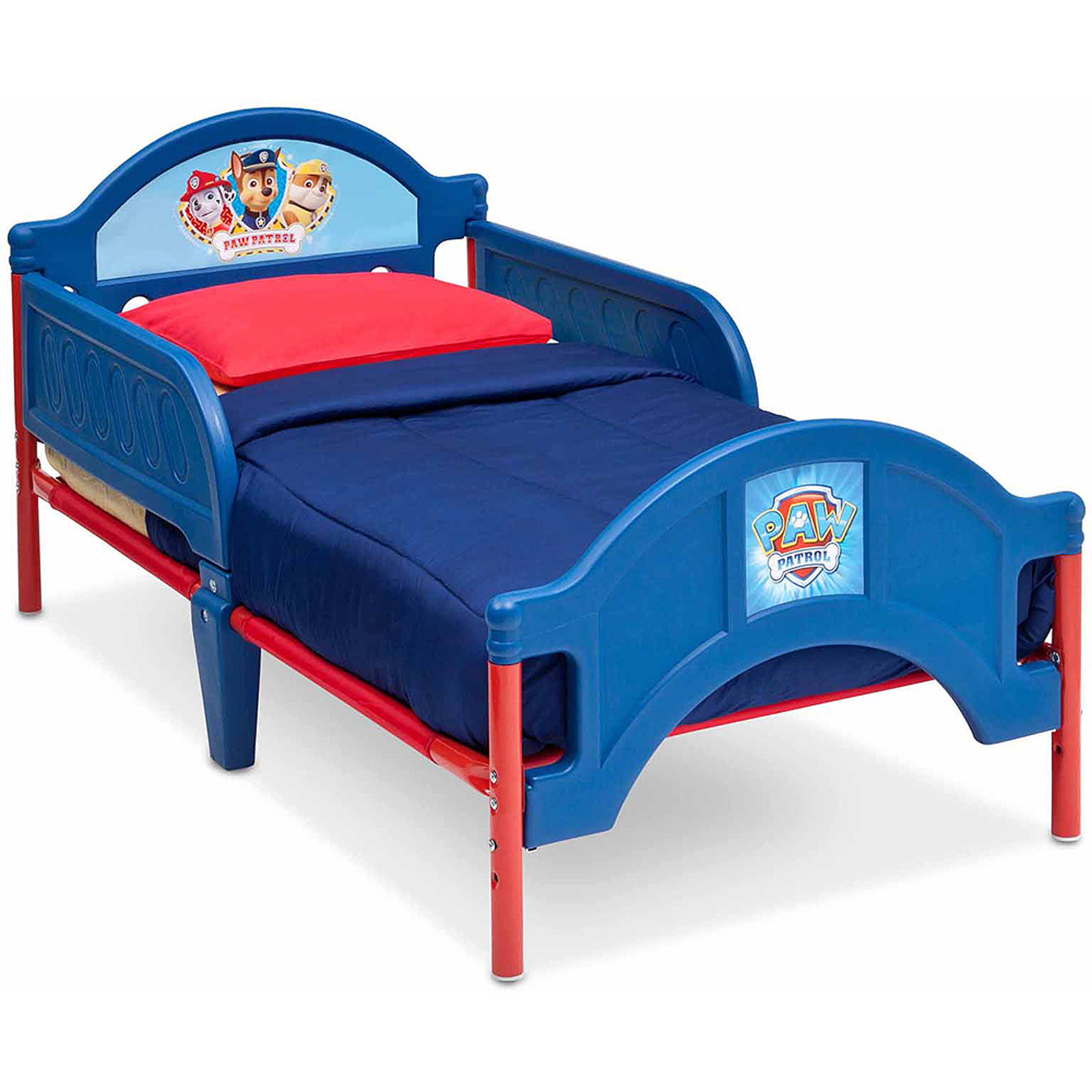 Delta Children Paw Patrol Plastic Toddler Bed