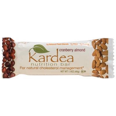 Kardea Nutrition Wellness Bar Cranberry Almond Case of 15 1.34 oz