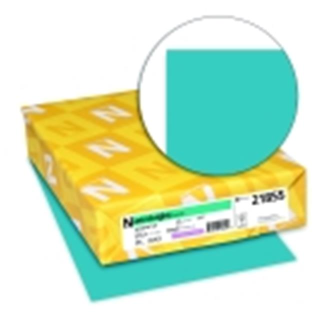 Astrobrights 8.5 x 11 in. Paper Acid-Free Card Stock Terrestrial Teal, Pack 250 by Astrobrights
