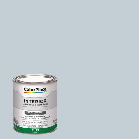 ColorPlace, Interior Paint, Fostoria Glass Blue, #90BG 63/043