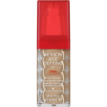 Revlon Age Defying with DNA Advantage Cream Makeup, 40 Early Tan, 1 fl oz - Walmart.com