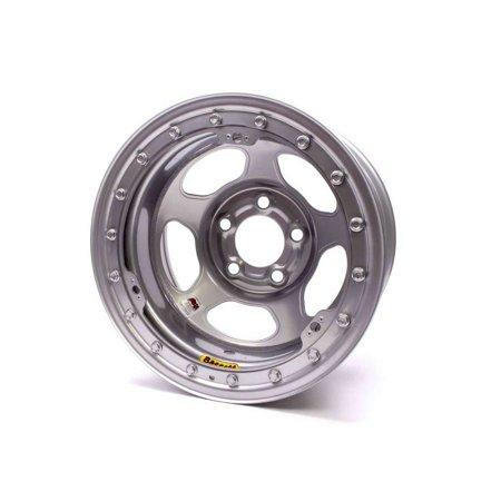 Bassett Inertia Advantage 15X8  5X4 50 Silver Wheel P N 58Af3isl