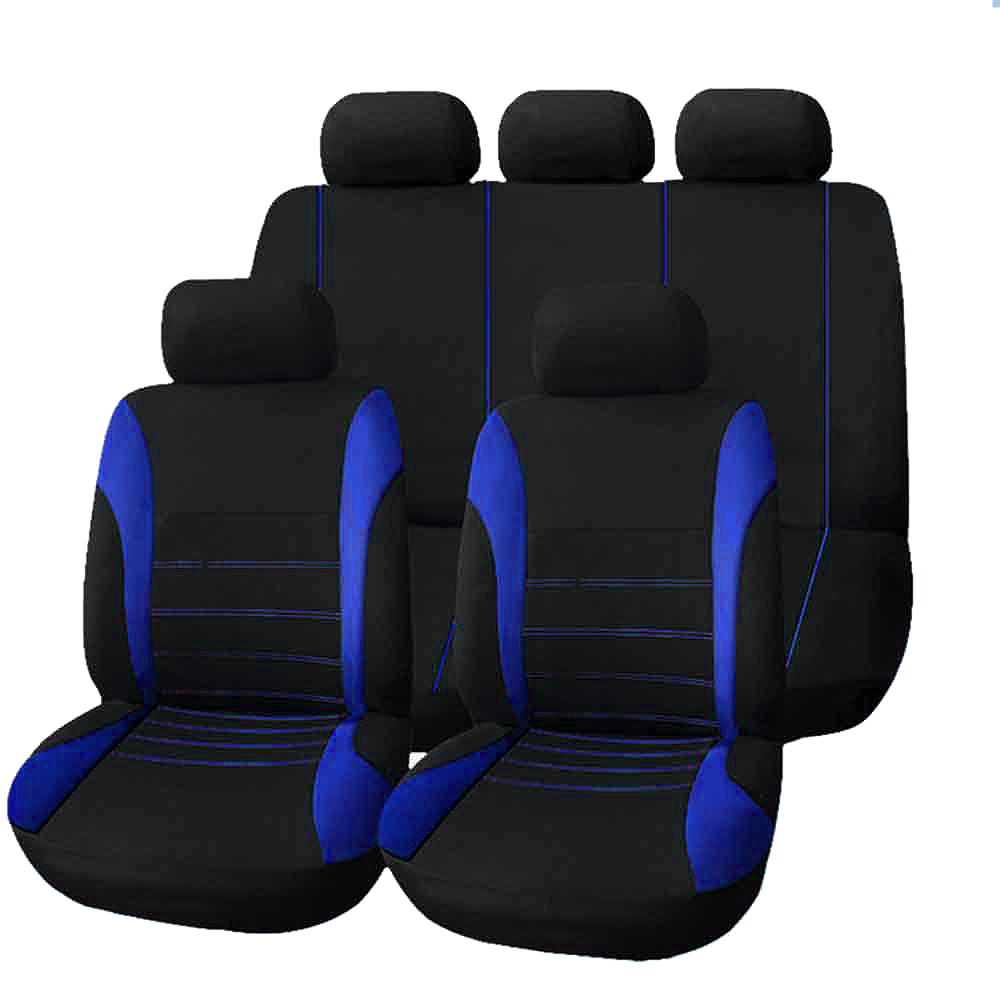 Universal Car Seat Cover 9 Set Full Seat Covers For Crossovers Sedans