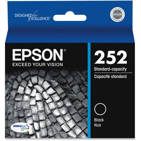 Epson 252 DURABrite Ultra Original Black Ink (Best Price For Epson Ink Cartridges)