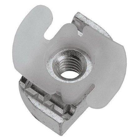 Power Strut PS-TG-1/2-EG Electrogalvanized Steel Top Grip Nut 1/2 Inch