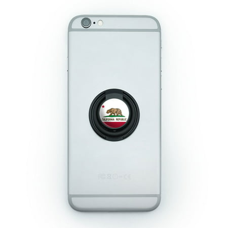 California Mobile (California Republic State Flag Mobile Phone Ring Holder Stand)