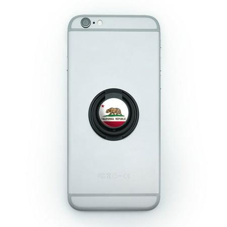 California Republic State Flag Mobile Phone Ring Holder -