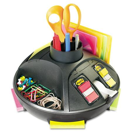 Pencil Dispenser (3M Rotary Self-Stick Notes Dispenser, Plastic, Rotary, 10