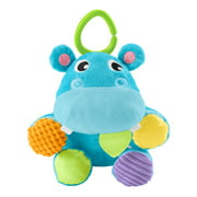 Fisher-Price Have a Ball 2-in-1 Plush Hippo with Fun Textures