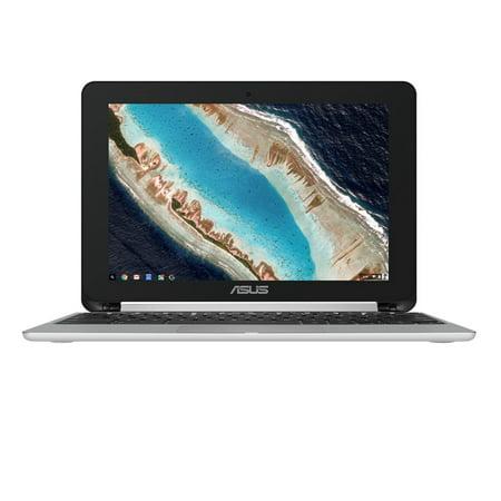 Asus Flip C101 C101pa Db02 10 1  Rockchip Rk3399 4Gb 16Gb Flash Memory   Chrome Os Convertible   Silver Chromebook