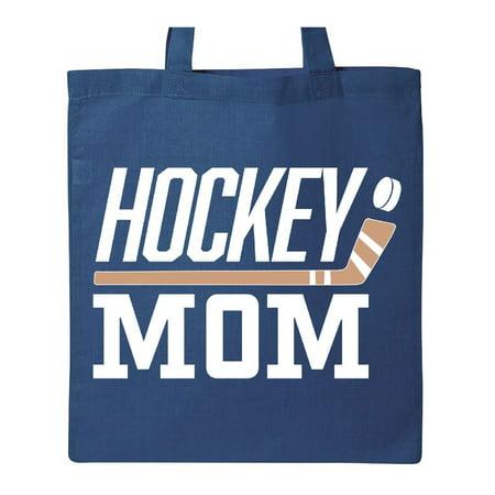 Mom Pets Tote Bag (Hockey Mom- stick and puck Tote Bag )