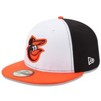 Baltimore Orioles New Era Home Authentic Collection On-Field 59FIFTY Fitted Hat - White/Orange