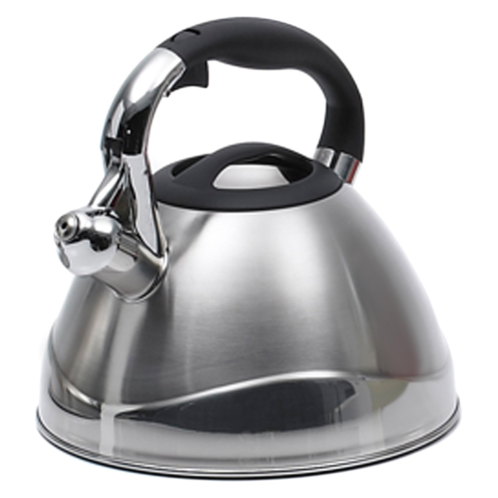 Creative Home Crescendo 3.1 qt. Silver Stainless Steel Tea Kettle