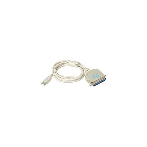 USB To Parallel Printer Cable, 6ft, Bi-directional