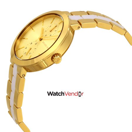 Michael Kors Women's Garner MK6472 Gold Stainless-Steel Japanese Quartz Fashion Watch