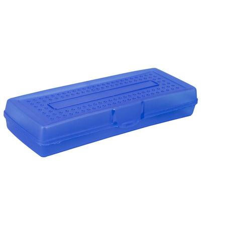 Storex Plastic Pencil Box  Case Of 12