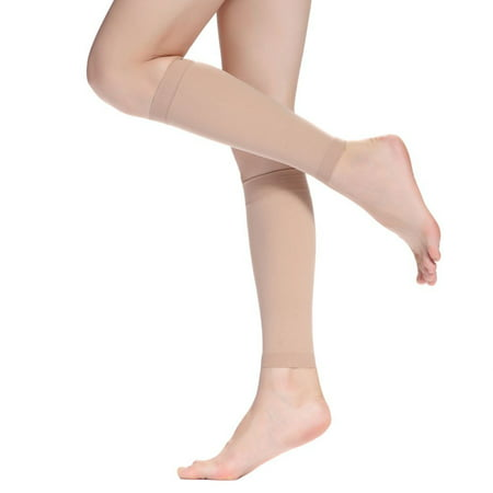 Women's Calf Compression Sleeve-Medical Compression Stockings,Best Footless Stockings For Shin Splint & Calf Pain