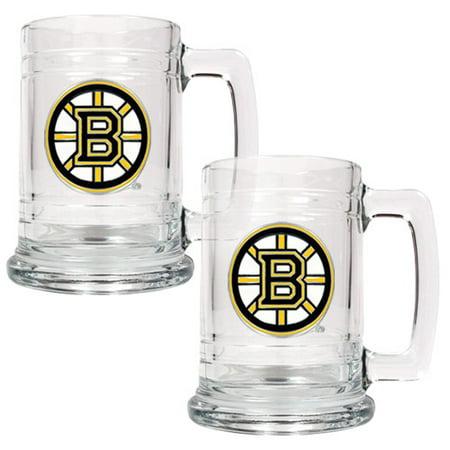 Boston Bruins 2-Piece 15oz. Tankard Set - No -