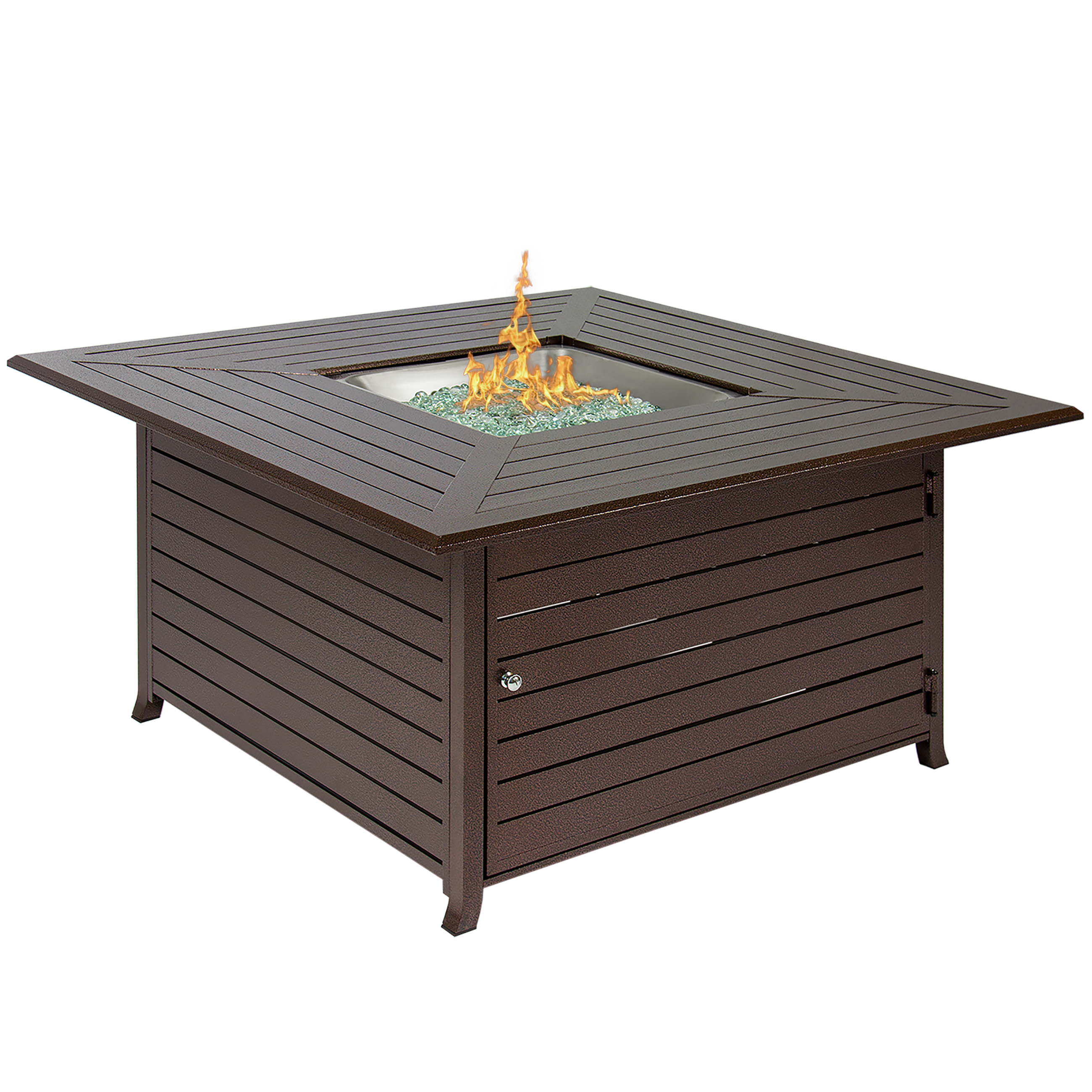 outdoor fire table. Best Choice Products Extruded Aluminum Gas Outdoor Fire Pit Table With Cover