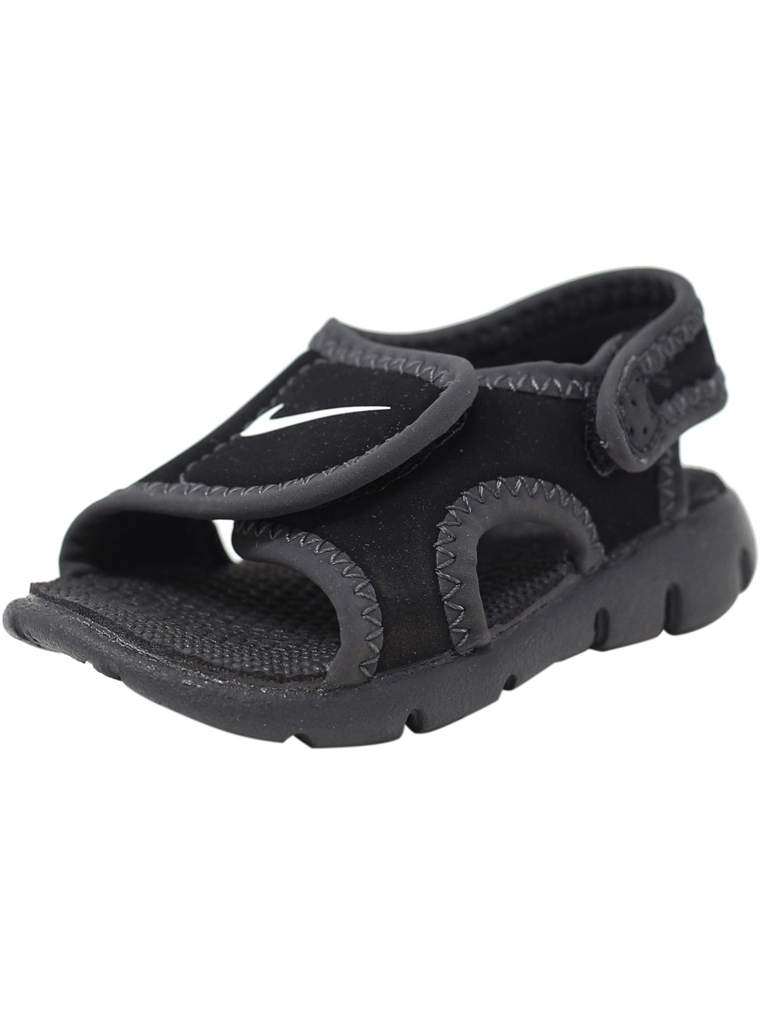 75d4a9ac1ae6 Nike Sunray Adjust 4 Black   White - Anthracite Sandal 4M
