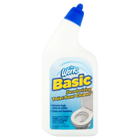 The Works Basic Deodorizing Toilet Bowl Cleaner 24 Fl Oz