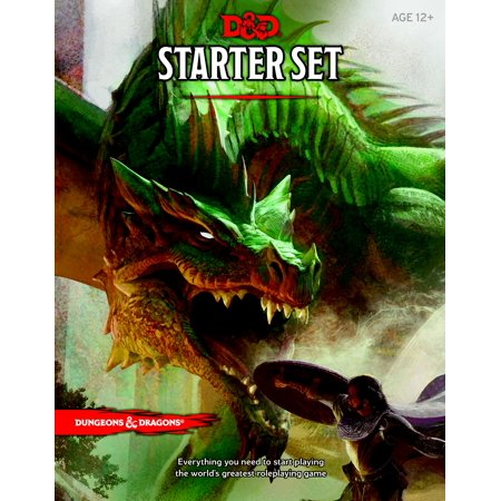 Dungeons   Dragons Starter Set   Fantasy Roleplaying Game Starter Set