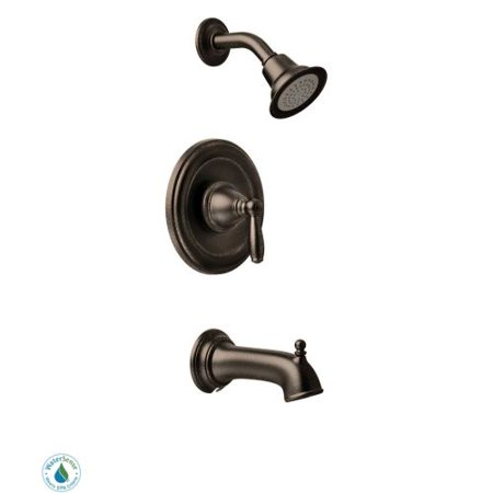 Moen T2153EPORB Brantford Bath and Shower Faucet with Posi-Temp Pressure Balanced Trim, Available in Various Colors