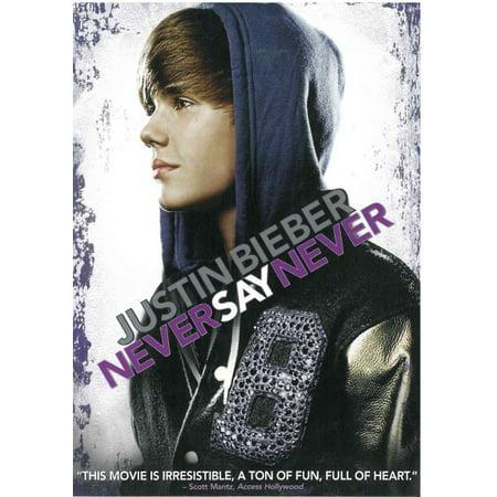Justin Bieber: Never Say Never (DVD) - Justin Bieber No Halloween 2017