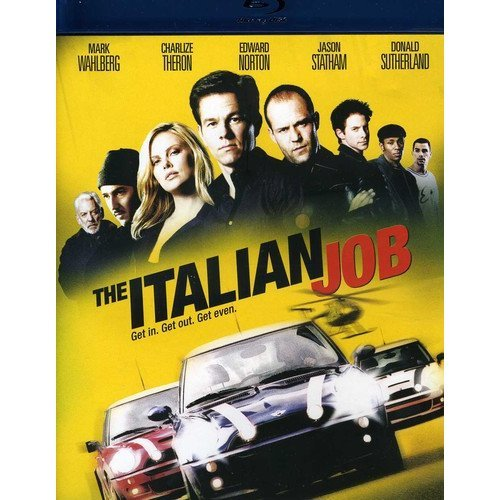 The Italian Job (Blu-ray) (With INSTAWATCH) (Widescreen)