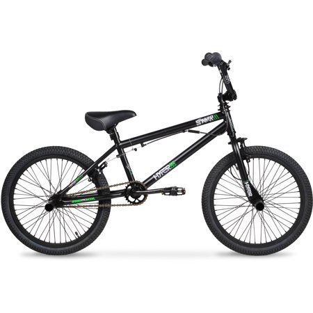20  Hyper Spinner Pro Boys Bmx Bike  Black Green
