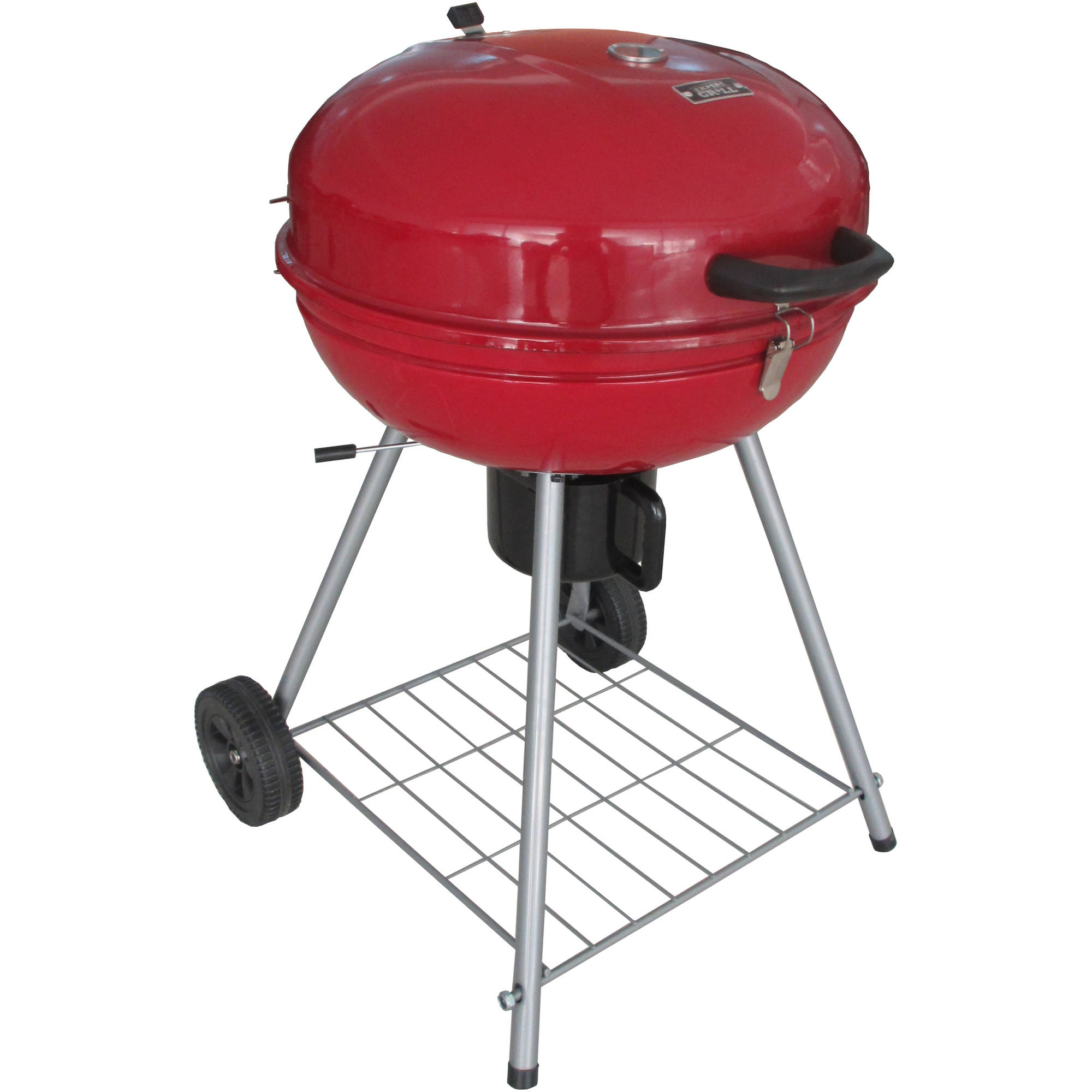 "Expert Grill 22.5"" Kettle Charcoal Grill, Red"