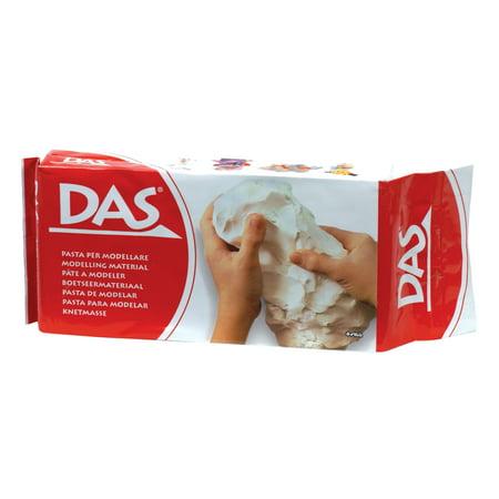 Das Air Hardening Clay, 1.1 lbs., White](Self Hardening Clay)