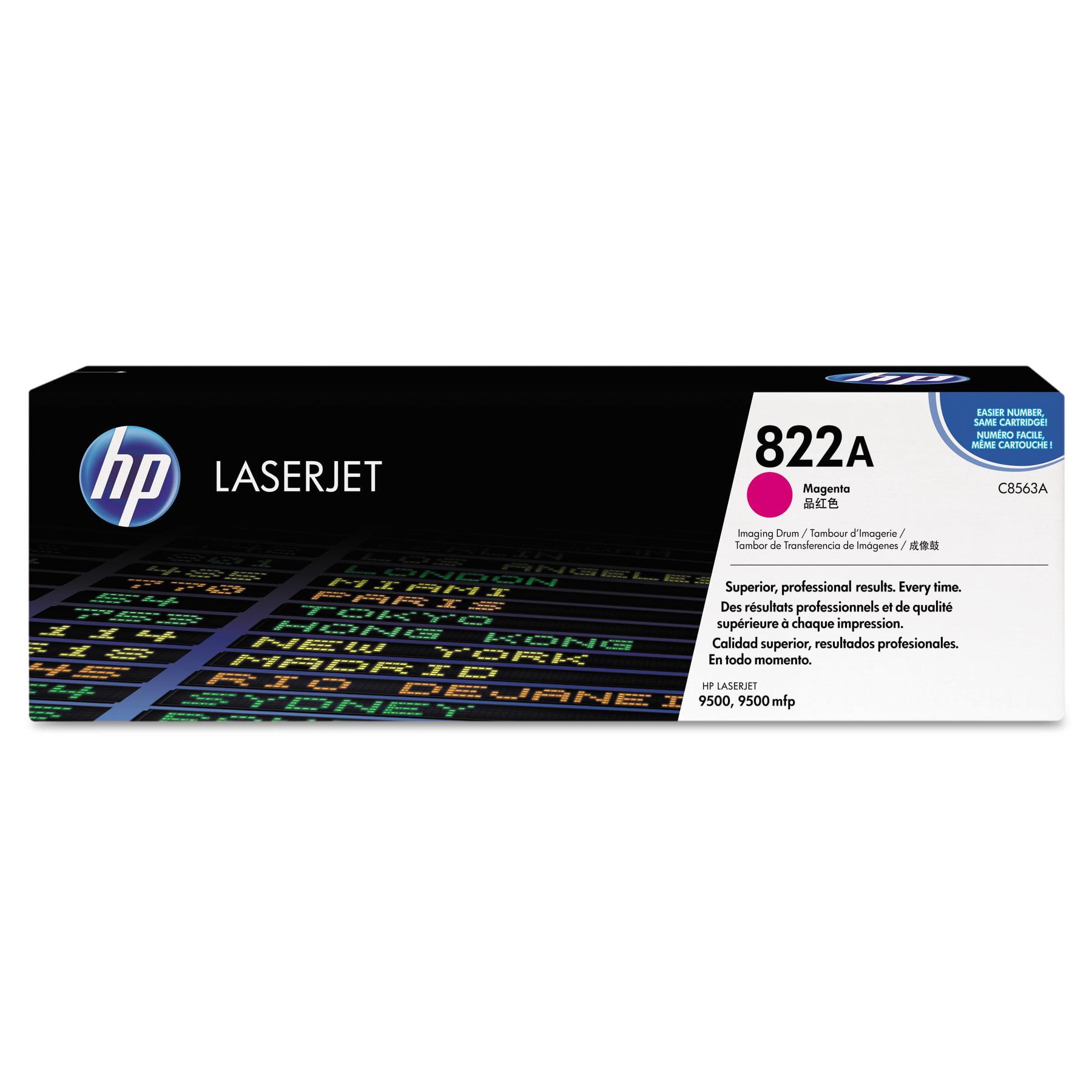 HP 822A (C8563A) Magenta Original LaserJet Image Drum