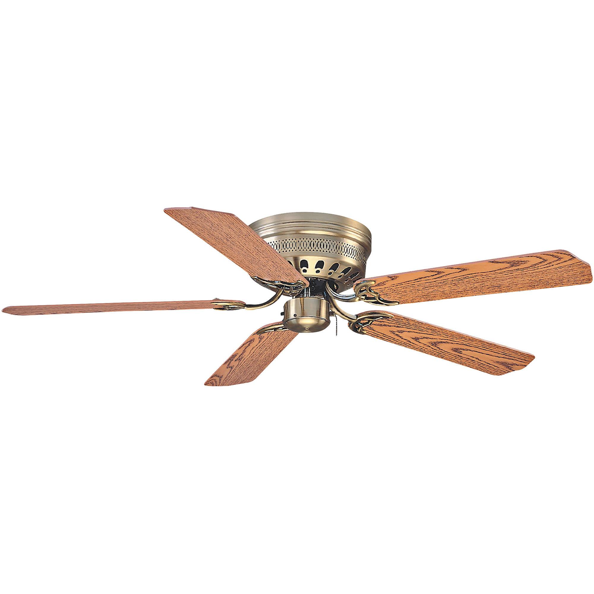 Litex Industries Close Up 52 Quot Hugger Ceiling Fan Antique