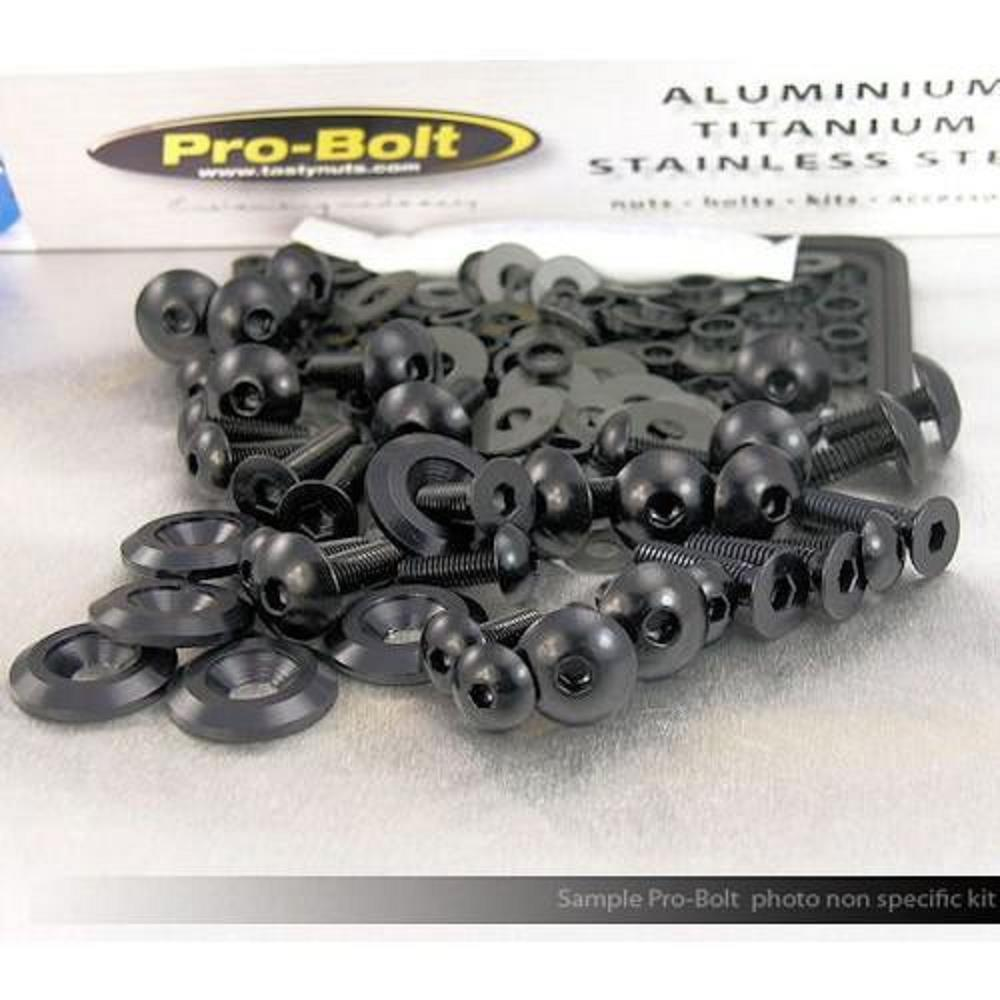 Pro Bolt FSU330BK Fairing Aluminum Bolt Kit - Black