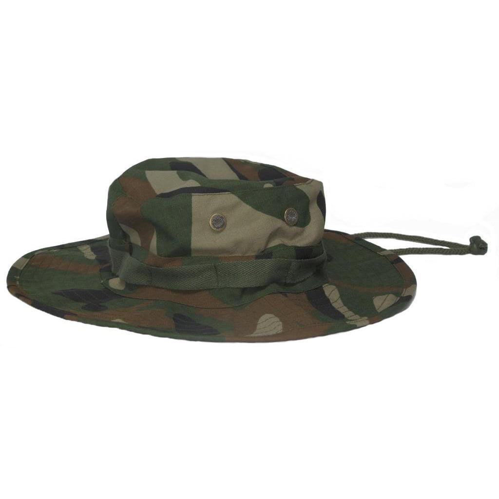 8b7b16e4b80 Mafoose Classic Tactical Military Boonie Outdoor Jungle Hat Tiger Stripe  Medium - Walmart.com