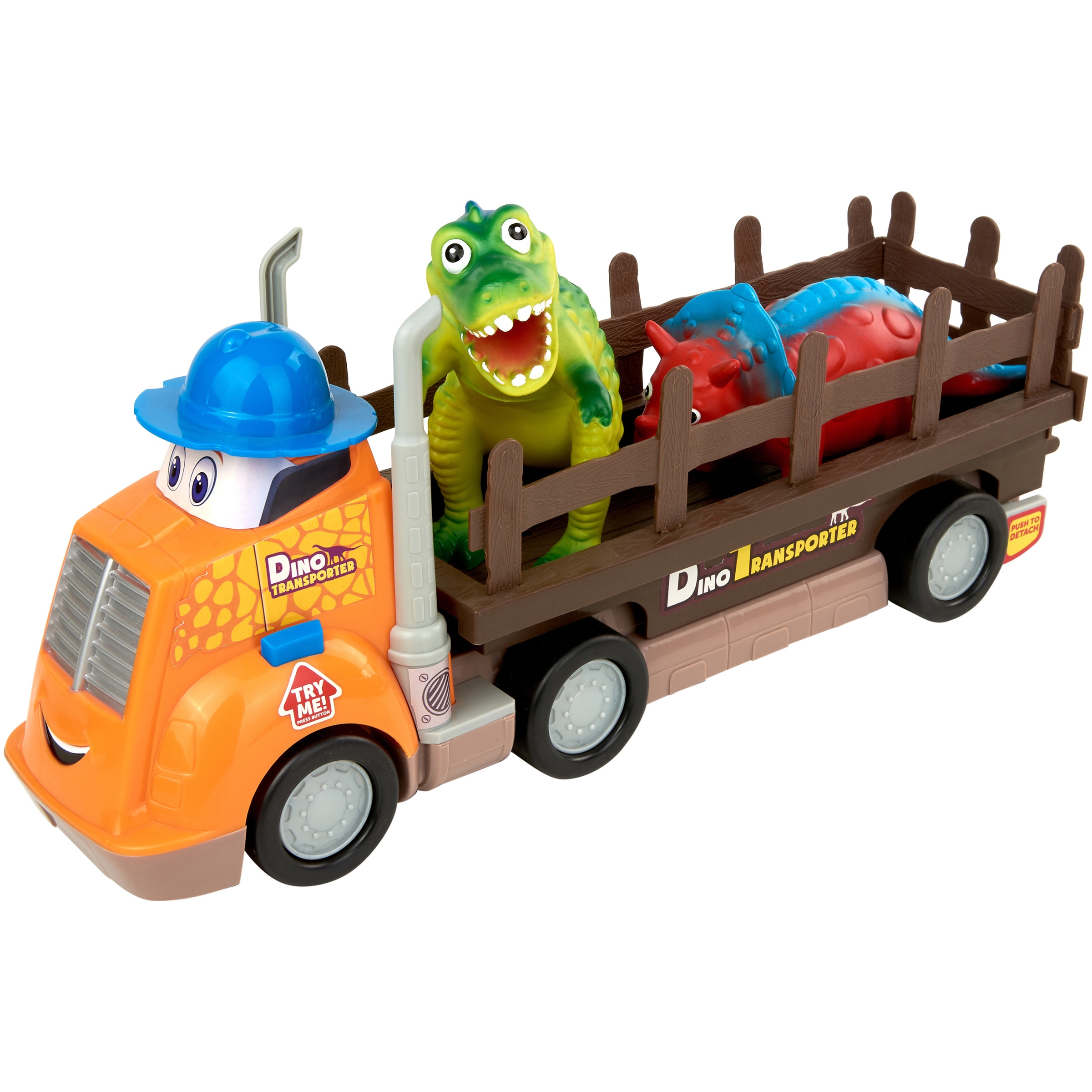 Kid Connection Dino Buddies Transporter with Dino Figures