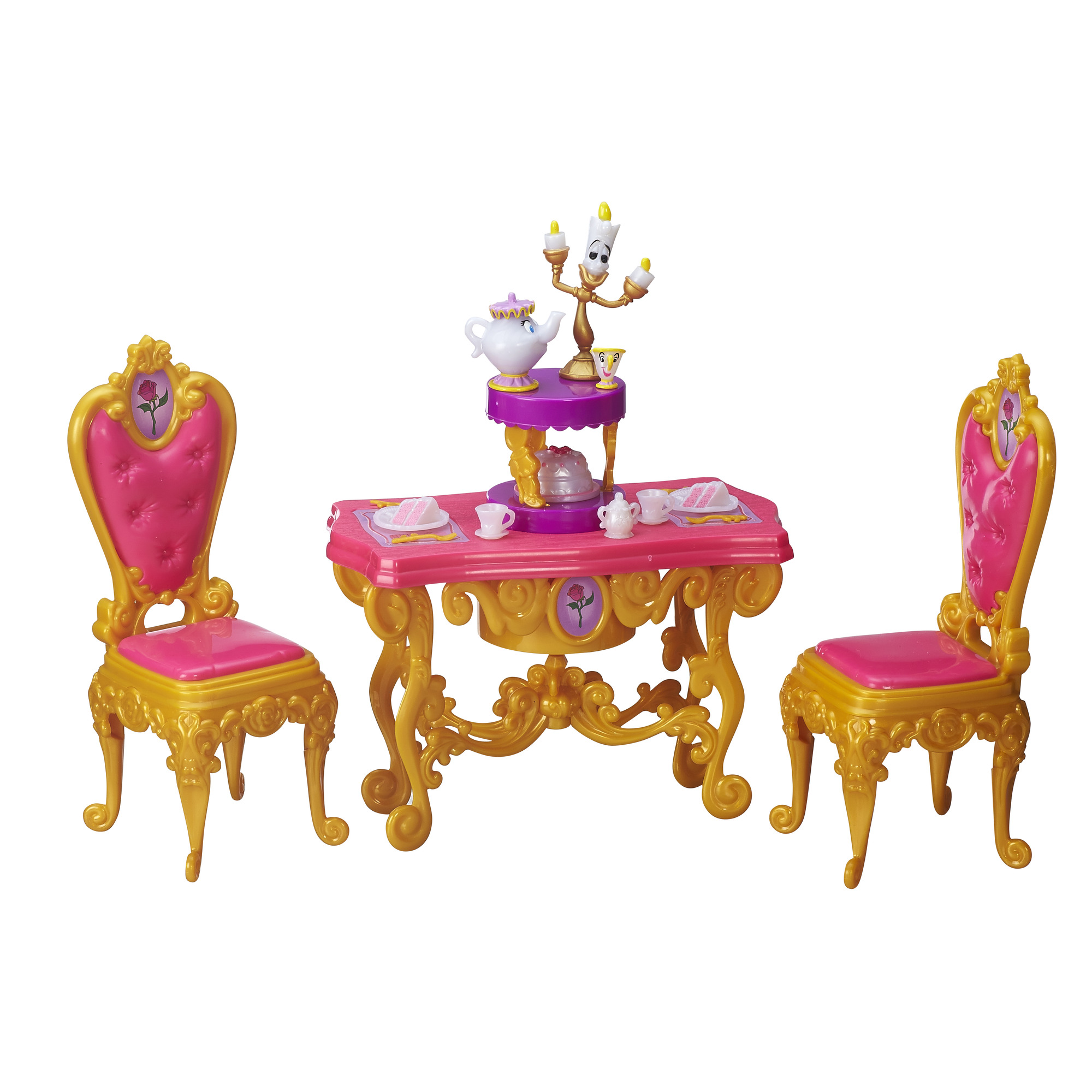 Disney Princess Belle's Be Our Guest Dining Room Set by Hasbro