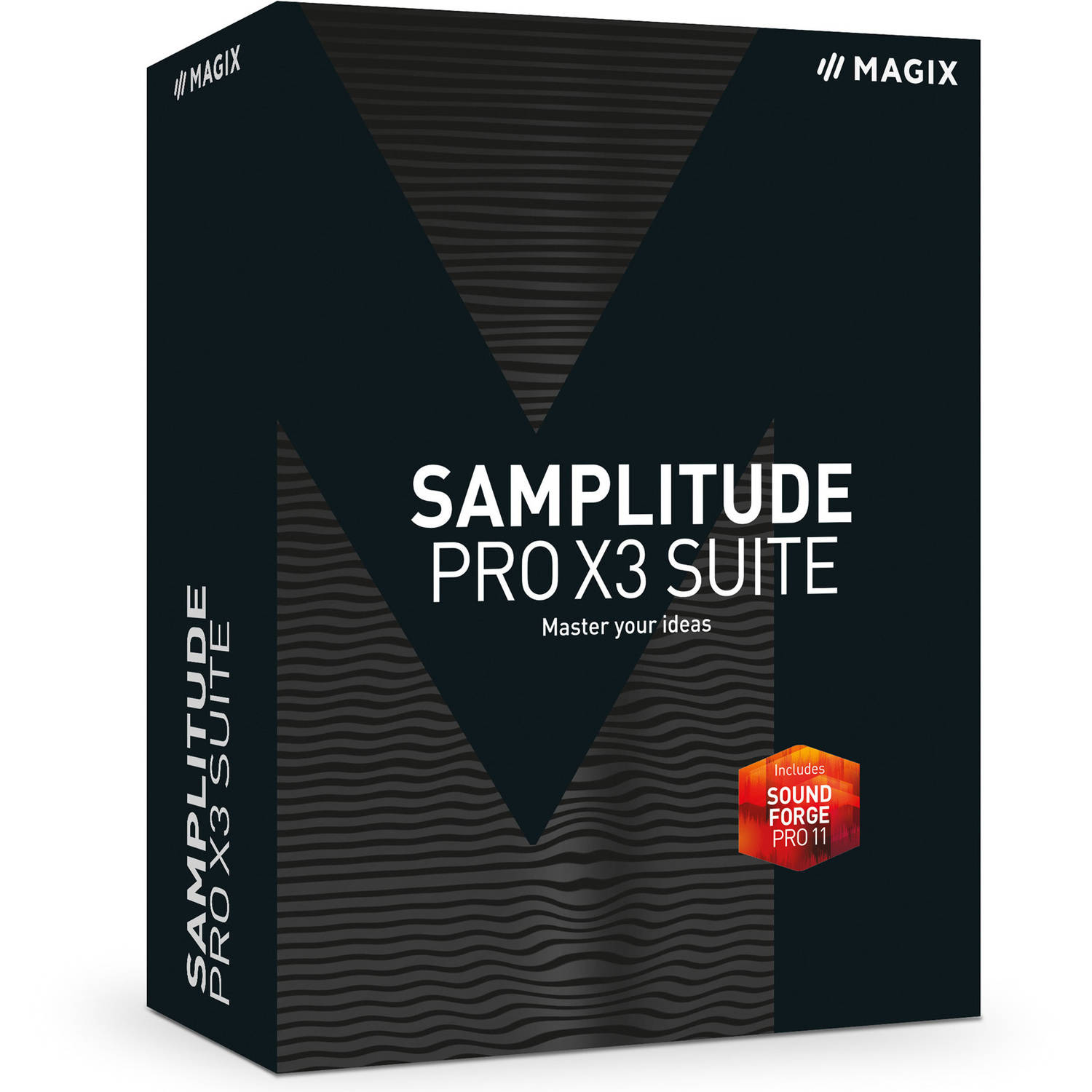 Magix Software ANR006213ESD Samplitude Pro X3 Suite ESD (Digital Code) by Magix Software