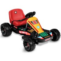 Gymax Go Kart Kids Ride On Car Electric Powered 4 Wheel Racer Buggy Toy