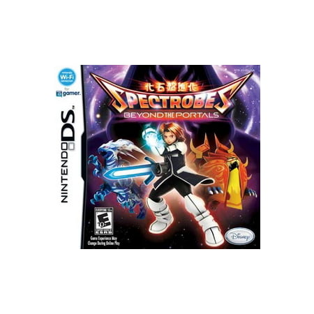 Spectrobes Beyond the Portals, Disney Interactive Studios, NintendoDS, 712725004644 (Beyond Disney)