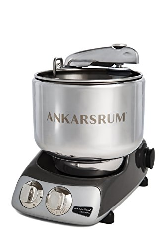Ankarsrum AKM 6220 Stand Mixer, Black Chrome by Ankarsrum