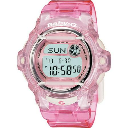 6aa6ffcab Casio - Casio Women's Baby-G BG169R-4 Pink Resin Quartz Fashion Watch -  Walmart.com