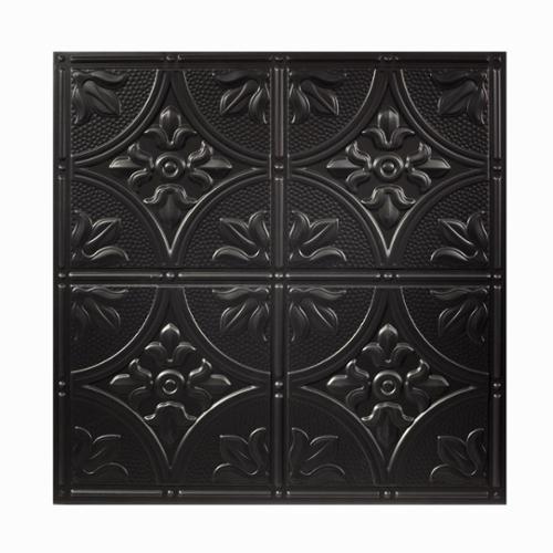 ACP Genesis Antique Black 2 x 2 ft. Lay-in Ceiling Tile (Pack of 12)