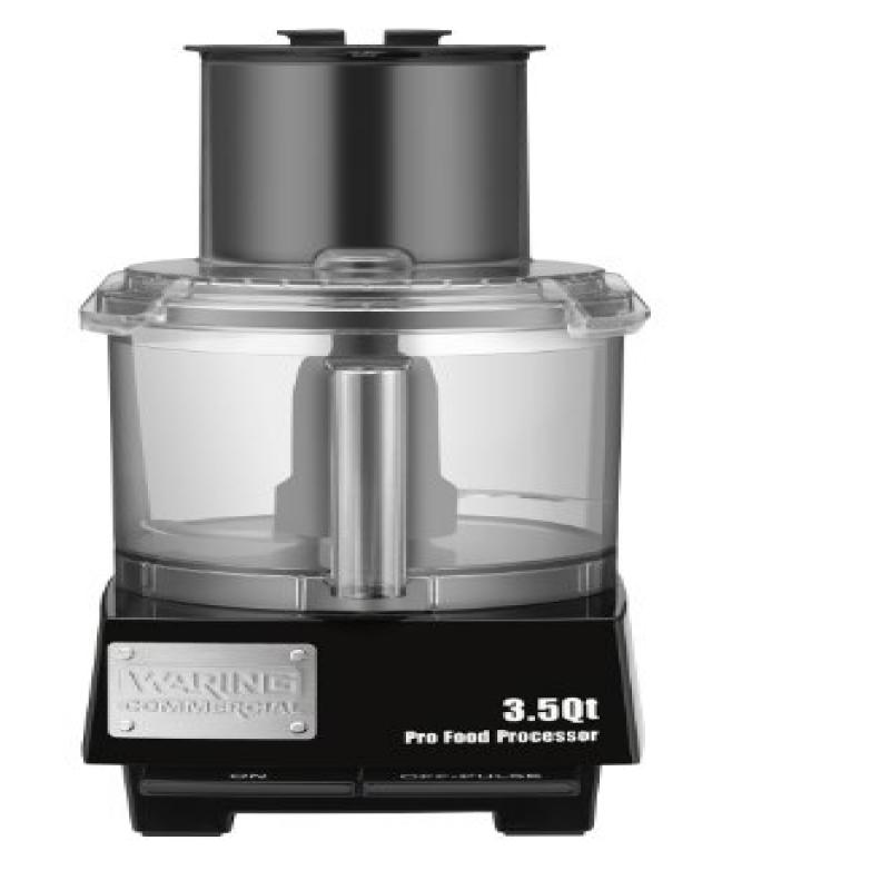 Waring Commercial WFP14S Batch Bowl Food Processor with LiquiLock Seal System, 3