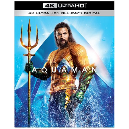 Aquaman (4K Ultra HD + Blu-ray + Digital Copy)