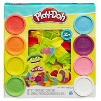 Play-Doh Numbers Letters N Fun Set w/8 Cans of Dough 21018