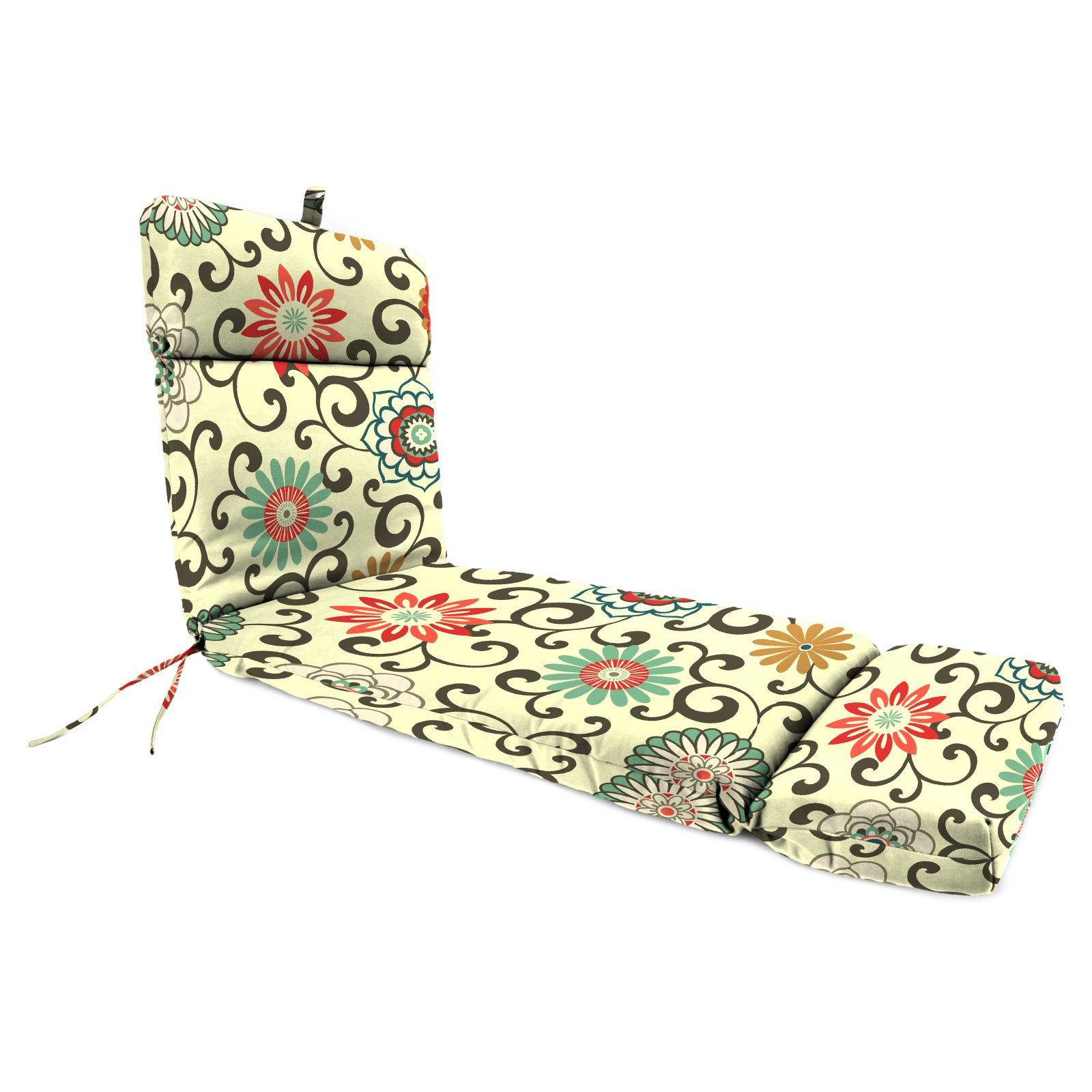 Jordan Manufacturing 72 x 22 in. Polyester Outdoor Chaise Lounge Cushion