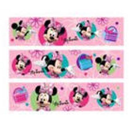 Minnie Mouse Edible Photo Image Cake Border Decoration - Decoration Border