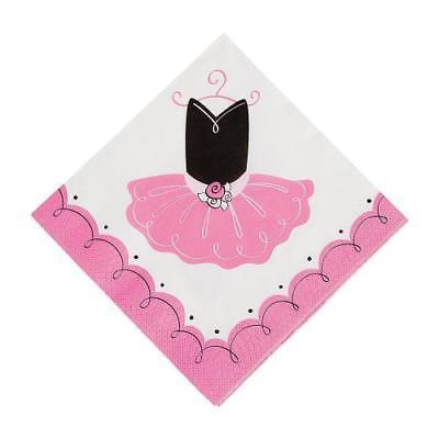 IN-13629496 Little Ballerina Luncheon Napkins 16 Piece(s)